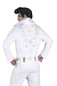 Elvis Presley Super Deluxe White Jumpsuit Costume   Authentic Elvis