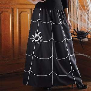 Martha Stewart Living Halloween Spider Skirt