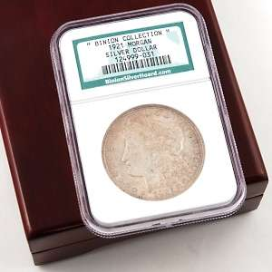 NGC Certified Binion Hoard Morgan Dollar at HSN