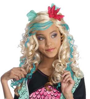 Monster High Lagoona Blue Wig   Groups & Themes