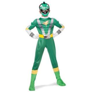 Power Ranger RPM Green Ranger Classic Muscle Child Costume   Costumes