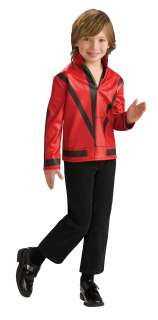 Michael Jackson Child Thriller Jacket Child   Includes jacket. Does