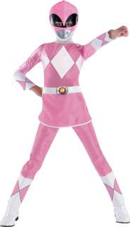 Power Rangers Pink Ranger Deluxe Child Costume   Includes jumpsuit