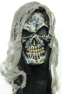 Adult Gauze Skull Mask   Gauze Skull Mask   Horrifying Zombie mask