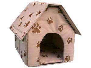 The Portable Dog House   Comfortable Folding Pet Home