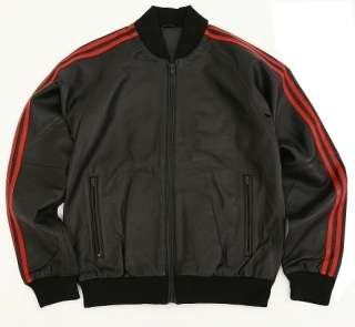 Mens Leather Jacket Tracksuit Top Upper New All Sizes