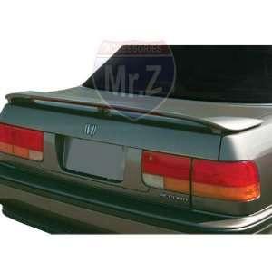 1990 1993 Honda Accord Custom Spoiler Factory Style With
