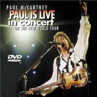 in concert on the new world tour jewel case dvd paul mccartney $ 19 98