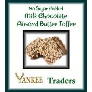 Milk Chocolate Almond Butter Toffee   14 Grocery & Gourmet Food