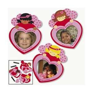 Foam Angel Inspirational Valentine Photo Foam Frame Craft Kit (pack of