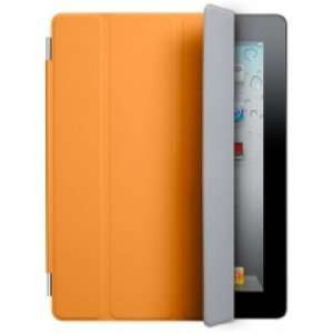 Magnetic Smart Cover Case Film for Apple Ipad 2nd   Orange