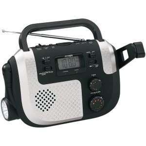 New AM/FM weather band dynamo radio w/   JEN MR 720
