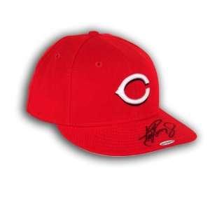 Jr. Autographed Alternate Baseball Cap (UDA)