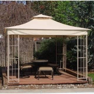 Lowes Garden Treasures Pagoda Gazebo Replacement Mosquito Netting New
