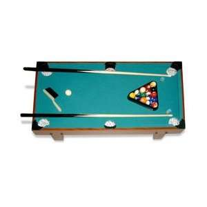 Billiards Table Top Game Set