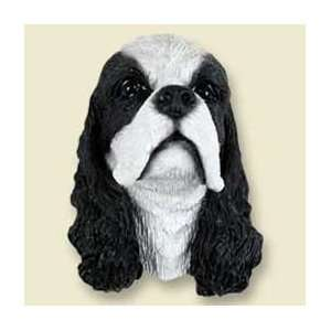Cocker Spaniel Dog Magnet   Parti Black:  Kitchen & Dining