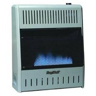 Kozy World GWD208 20,000 BTU Vent Free Dual Fuel Gas Wall Heater