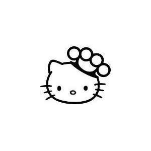 Hello Kitty Brass Knuckles 5 Sticker Decal Arts, Crafts