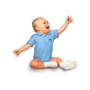Brewers Infant Golf Shirt Creeper by Soft as a Grape   Light Blue 12
