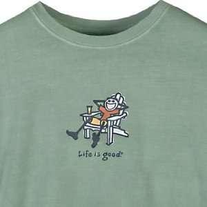 Life Is Good Inc. Mens Long Sleeve Jake Adirondack Tee