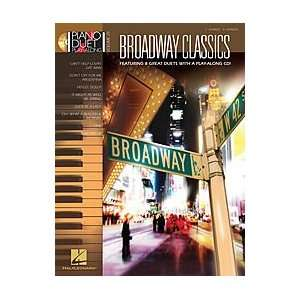 Broadway Classics Piano Duet Play Along Volume 29 Book/CD Musical
