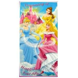 Disney Princess Cinderella Bath Beach Towel