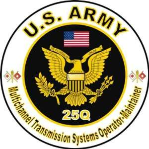 United States Army MOS 25Q Multichannel Transmission Systems Operator