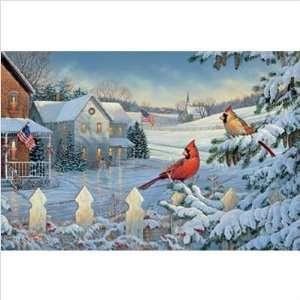 WeatherPrint 16027 A Patriotic Christmas Outdoor Art   Sam