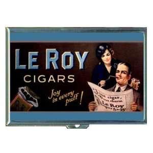 Cigar Happy Couple Retro Ad ID Holder, Cigarette Case or Wallet MADE