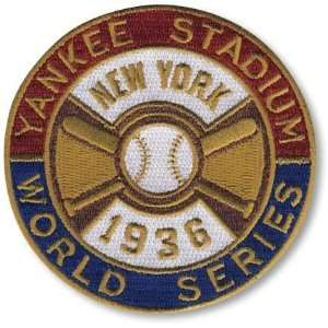 York Yankees World Series MLB Baseball Patch Cooperstown Collection