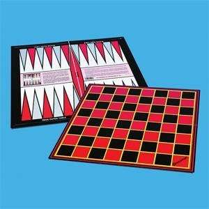Worldwide Folding Chess/Checkers/Backgammon Board Toys & Games