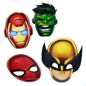 Marvel Super Hero Squad Assorted Masks (8 count) Toys