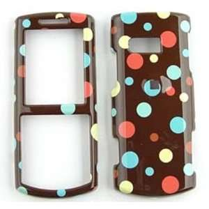 Messager II R560 Little Tiny Polka Dots on Brown Hard Case/Cover