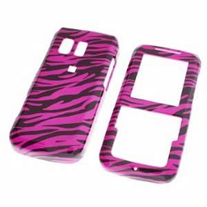 Premium   Samsung R450/Messager Hot Pink/Black Zebra Cover