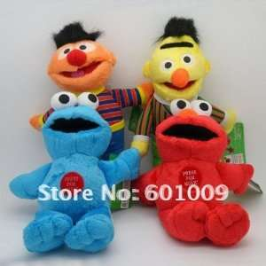 high quality soft plush sesame street plush singing doll 8