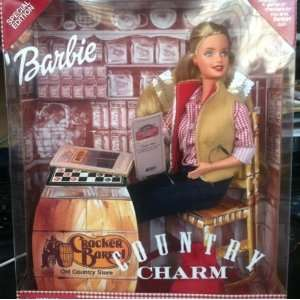 Barbie Country Charm Cracker Barrel Doll: Toys & Games
