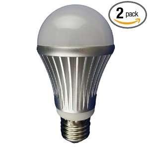 E27 2 Dimmable High Power 10 LED Par A19 Lamp, 10 Watt Cold White, 2