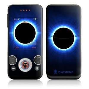 Blue Star Eclipse Design Protective Skin Decal Sticker for