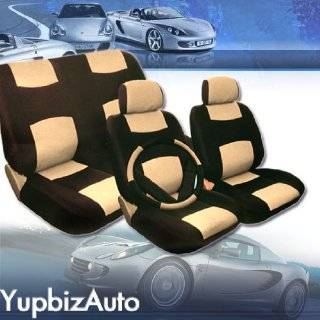 Universal Size PU (Synthetic) Leather Car Seat Covers Set for Ford