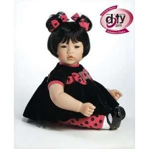 Black Velvet   20 inch vinyl Asian toddler doll by Adora: Toys & Games