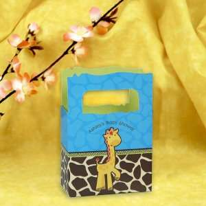 Giraffe Boy   Mini Personalized Baby Shower Favor Boxes: Toys & Games