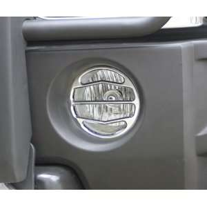 Hummer H3 Smooth Chrome Billet Driving Light Covers 2006, 2007, 2008
