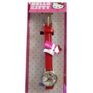 Sanrio Hello Kitty Watch   Hello Kitty Wrist Watch (Red