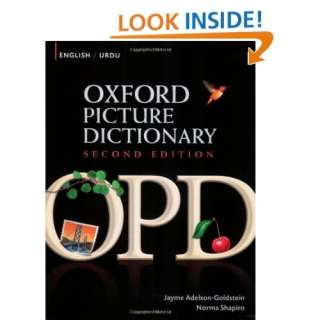 Oxford Picture Dictionary English Urdu Bilingual Dictionary for Urdu