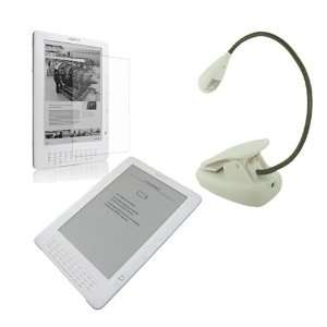 3 Accessory for  Kindle DX(Clear Silicone Skin Case