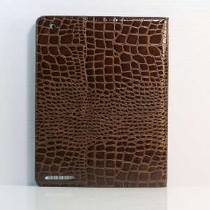 leather Case/Cover for Apple iPad 2 Generation (+Free Screen Protector