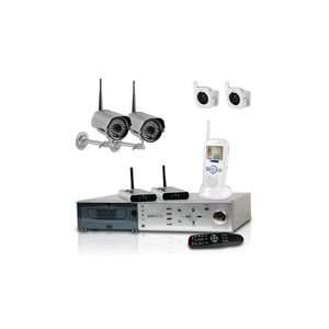 bundle with 4 digital wireless security camera systems: Electronics