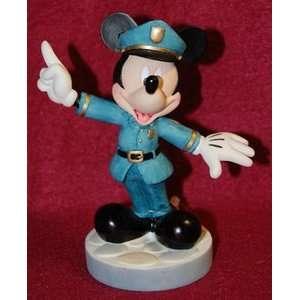 Disney Mickey Mouse Policeman Figurine