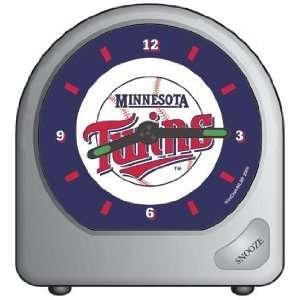 MLB Minnesota Twins Alarm Clock   Travel Style