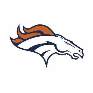 36 Denver Broncos football logo Wall Graphic Full Color Vinyl Decal